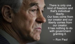 Ron Paul explains Liberty